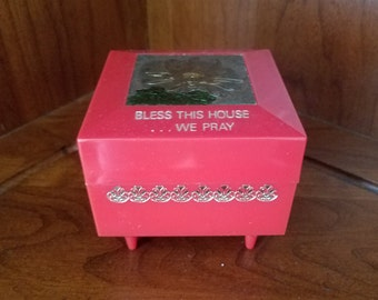 Bless This House ......  We Pray Music Jewelry Box