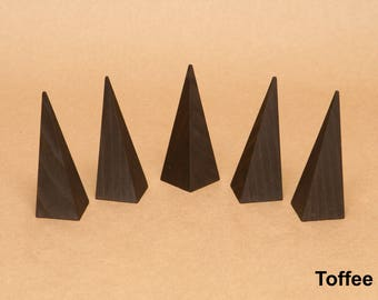 Ring Display / Ring Holder / Finger Display / Pyramid Ring Holder / Ring Cone / Ring Stand / Ring Organizer / Solid Wood / RN001