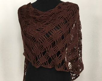 Lattice Lace Shawl / Wrap / Gift for Her