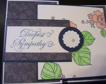 Deepest Sympathy/Fun Stampers Journey