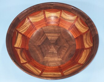 No. 8 - Segmented Wood Bowl