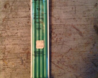 Scovill Hero Double Pointed Knitting Needles Whisper Size 13 10 inch