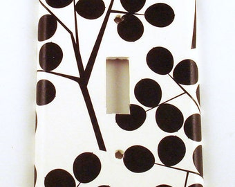 Switchplate  Wall Decor Light Switch Plate Switch Cover in  Black Berry (263S)