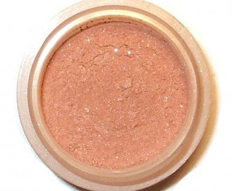 "Oasis Blush Refill~ 50% off - limited time Grab it now - Orchid Blue Cosmetics Natural Mineral BLUSH ""Oasis""  Peachy Earth-tone"