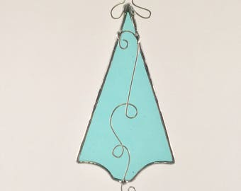 Stained Glass Tree Ornament - Stained Glass Christmas Tree - Christmas Tree Ornament - Stained Glass Tree Suncatcher - Tree Suncatcher