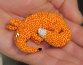 PATTERN Crochet Fox toy pattern amigurumi fox pattern crochet toy pattern crochet pdf crochet fox pattern amigurumi stuffed toys tutorials