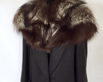 1940-50's - (racoon?) fur stole