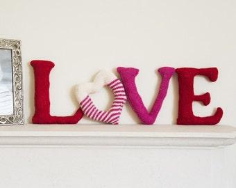 LOVE knitting pattern download bundle (860020)
