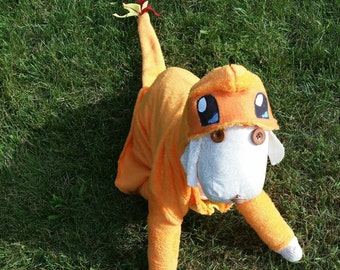 Halloween costume for dogs costumes pet costume Halloween outfit Charmander costume Halloween costumes - S-XXL & Dog costume | Etsy