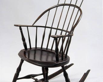 Thomas Rocker windsor chair made by hand in america