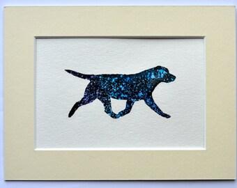 Labrador Retriever - Trotting Silhouette