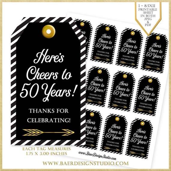 50th Birthday Tag:50th Anniversary Tag 50th Birthday Party