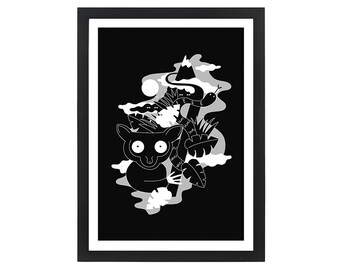 Nocturnal -  Giclee Print