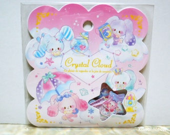 Q-LiA Sticker Flakes - Crystal Cloud - 50 Pieces (21115)