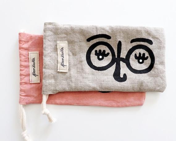 ÓCULOS! // Sunglasses Fabric Pouch