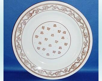 Oxford Dessert Plate Vintage Restaurant Ware
