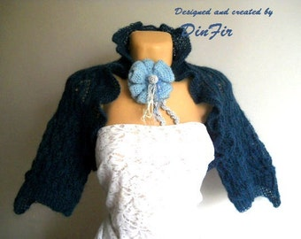LIQUIDATION Stock SALE 30% OFF / Women Shrug Bolero Wedding Accessories Jacket Cardigan Cape Hand Knitted Elegant Crochet Vest Capelet Gift