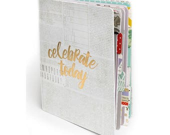 CLEARANCE (50%OFF) - Pink Paislee The Memory Notebook - (Original Price AUD 15.00)