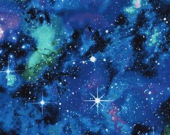 Galaxy Cotton Lycra Jersey Knit from Timeless Treasures  neon 50% 4 way stretch 95/5 cotton/lycra CS4847-GALA City Knits