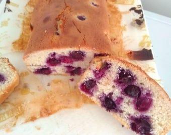 Dairy free lemon drizzle cake