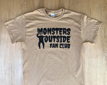 Monsters Outside We Are 1983 Tee Shirt