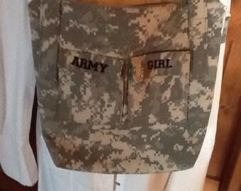 Army Girl handbag
