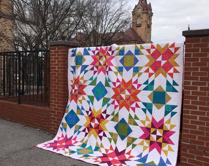 Wyoming Wind Quilt Pattern (Multiple Sizes)