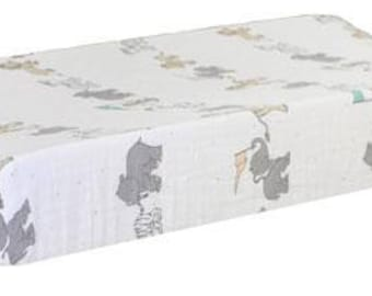 Changing Pad Cover | Animal Parade Crib Baby Bedding Set