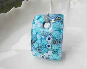 Millefiori Necklace In Murano Glass