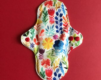 Small Cloth Pad Wild Flowers