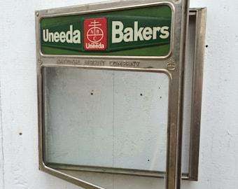Antique Advertising Uneeda Bakers Nabisco National Biscuit Company General Store Display Box Door