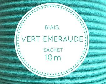10 m bias - emerald green bag