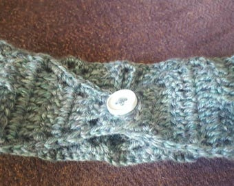 Textured Crocheted Earwarmer