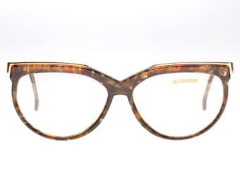 JIL SANDER Vintage Original Brille Eyeglasses Occhiali Gafas 253-710 58-18 XL bp8WV