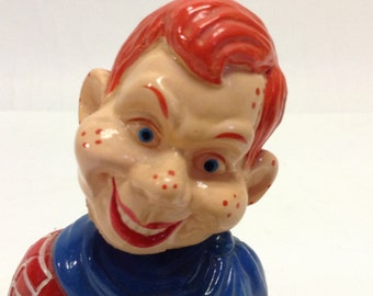 80s Vintage HOWDY DOODY Bobble Head Figurine Doll