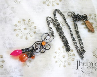Kesari /// Amulet Necklace by Jhumki - designs by raindrops