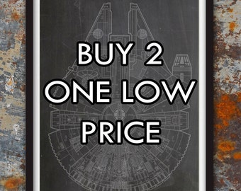 Choose 2 Prints for One Low Price