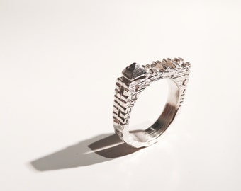 Watchtower castle ring
