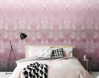 Ombre Removable Wallpaper / Self Adhesive Wallpaper / Watercolour  Wall Mural / Wall sticker - CM055