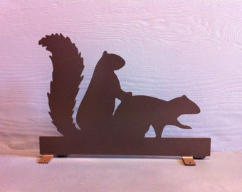 Two Squirrels Metal Mailbox Topper Squirrel Mailbox Topper Squirrels In Love Mailbox Topper Squirrels Garden Stake