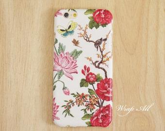 Spring Floral iPhone case iPhone SE case iPhone 6S case iPhone 6 case iPhone 6S Plus case iPhone 6 Plus case