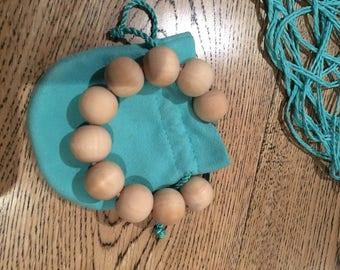 Natural WoodBeads Bracelet