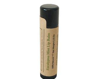 Eucalyptus Mint Essential Oil Lip Balm