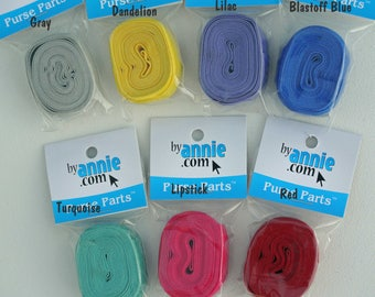 """Fold Over Elastic, 5/8"""", byAnnie, Foldover, by Annie, Purse Parts, Bag, Tote, Pocket, Mesh"""