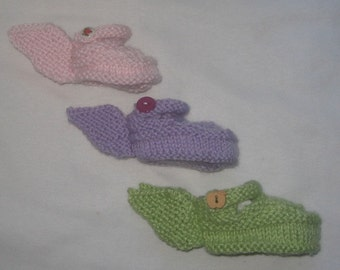 Fairy Shoes - KNITTING PATTERN – pdf file by automatic download