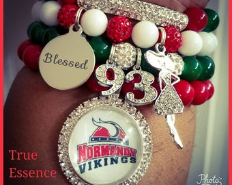 Normandy Vikings Alumni Bracelet