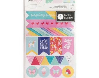 Dear Lizzy Stay Colorful Washi Tape Book -- MSRP 5.00