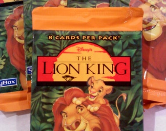Trading Cards-Disney's LION KING Trading Cards