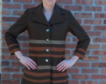 Vintage pea coat *label advice welcomed*