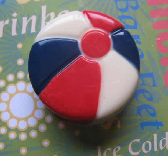 One dozen beach ball chocolate covered sandwich cookie party favors